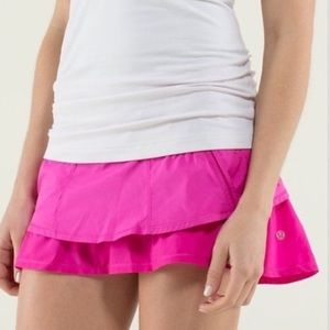 LULULEMON skirt Pink 4 EUC